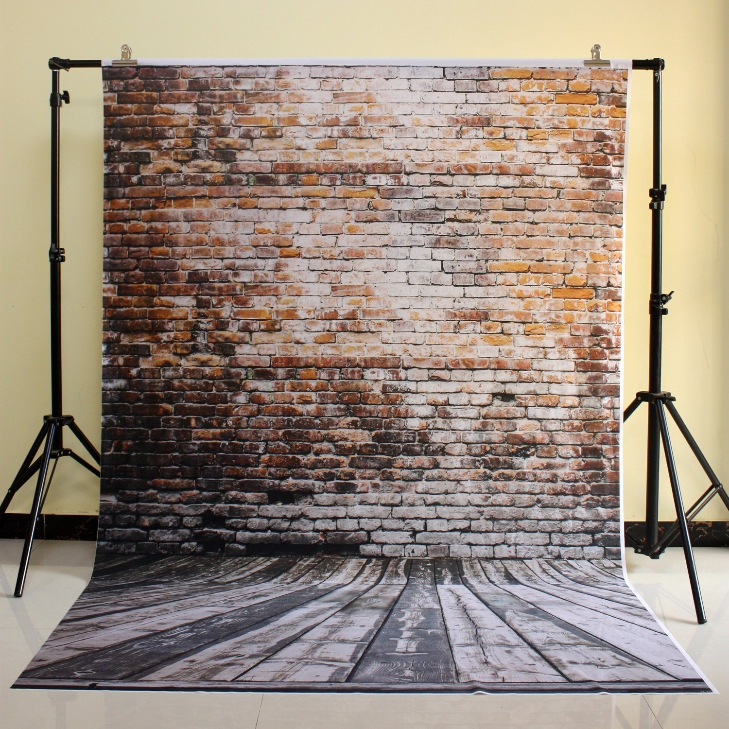 150x220 cm Cotton Polyester Dark Deep Color Background Christmas Party Backdrop Children Photo Backdrop Brick wall D-3489<br>