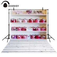Allenjoy Photography background candy honey jar shelf Children princess kids props customize  backdrops