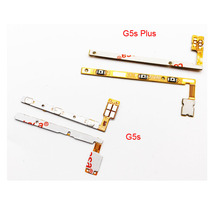 New625 Power Volume Flex Cable For Motorola Moto G5s Plus Side Key Button Flex Cable High Quality(China)