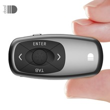 2.4GHz Mini Rechargeable Powerpoint Remote Control PPT Clicker USB Receiver Presentation Pointer Wireless Presenter(China)