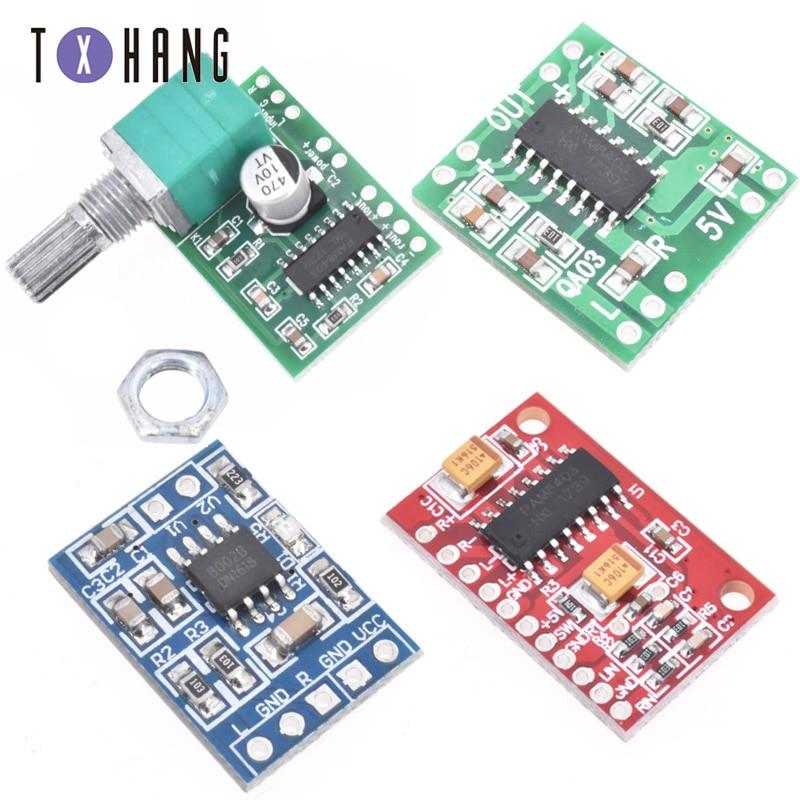 5 PAM8403 Mini Digital DC 5V Amplifier Board Class D 2*3W USB Power Audio Modul