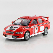 1:36 KINSMART No.7 Racing Car Toy, Miniature Diecast Metal Sports Cars Model, Pull Back Vehicle, Toys For Boys, Juguetes