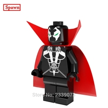 Spawn DIY blocks Single Sale Image Comics Super Heroes Malebolgia Models & Building Toys Blocks For Children