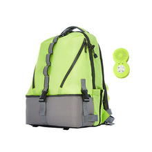 26L Unisex Camping Backpack Sports Gym Bag Travel Duffle Bag Water Resistant with Ice Chamber and Bluetooth Speaker