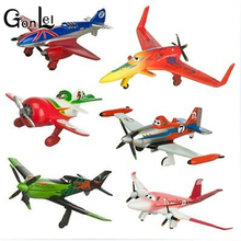 GonLeI 6pcs/set pixar planes dusty planes 2 ishani skipper Ripslinger airplane plane model gifts doll classic toys for children