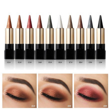 20 Colors Metallic Shimmer Eyeshadow Stick Makeup Pen Waterproof Smoky Eye Shadow Creamy Red Nude Eye Cosmetic Tools(China)