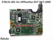Classy Quality Laptop Motherboard For HP DV7 DV7-2000 Motherboard  578131-001 Socket PGA478  DDR3 100% Fully Tested
