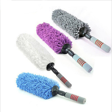 Magic Adjustable Soft Microfiber Cleaning Truck Car Cleaning Brushes Dust Large Handy Washable Microfiber Duster Besom(China)