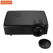 Zeepin Co680 3D LCD Projector 4000 Lumens 800*600 Full HD 1080P Wifi Media Player for Home Office Education Theater Projector