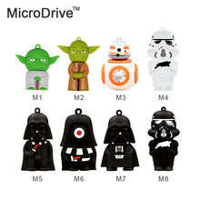 Star War Funny Robot USB Flash Drives 32GB 16GB 8GB 4GB Usb 2.0 Pen Drive 64GB External Storage Usb Stick Pendrives Gift