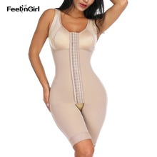 Feelingirl Corset Girdle Butt-Lifter Waist-Trainer Slimming-Sheath Fajas Overbust Full-Body-Shaper