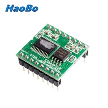 2PCS Stereo UART MP3 Player Voice Module Sound Music Chip 24Bit DAC N9200A w/ SD Card Socket NEW