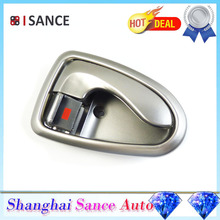ISANCE Silver Inside Door Handle Front or Rear Right Side 82620-25000 For Hyundai Accent 2000 2001 2002 2003 2004 2005 2006(China)