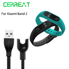 USB Charging Cable For Xiaomi Mi Band 2 Charger Cord Replacement Adapter for Xiaomi MiBand 2 Fitness Tracker Smart Bracelet
