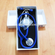 Royal Blue New Single Head Professional Cardiology Medical Stethoscope(China)