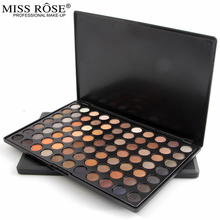 MISS ROSE brand 77 color matte / pearl long-lasting eye shadow smoke earth color shiny natural easy to wear beginner Set