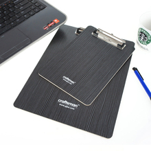 12 styles wooden desk card notebook papers writing file mat drawing folder clip board clipboard a4 school office supplies(China)