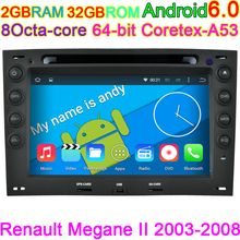Capacitive Vehicle Computer Car DVD Player for Renault Megane Android car DVD player With CANBUS GPS MAP TV Head Unit System(China)