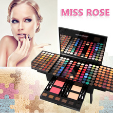 Hot style NEW Product Piano 180 color pearl matte blush powdery cake grooming powder eye shadow colour makeup suits #90855(China)