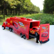 Pixar Car No.95 Mack Racer's Truck Lightning Toy Cars For Kids Boys Red