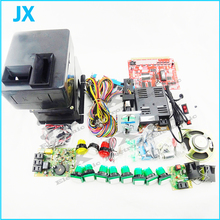 DIY arcade part casino game kits with the 7X PCB board Coinhopper, coin acceptor, buttons, harness. etc for  slot game machine