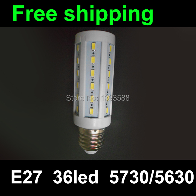 220V AC SMD 5730 E27 LED Bulb light 8W LED lamp 36LED lamp Warm white/white/Cool white LED Corn Bulb<br><br>Aliexpress