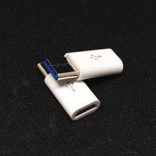 1Pcs USB 3.1 Type C Male to 5Pin Micro USB Female Converter Connector Charging Transfer for MacBook USB3.1 Type-C Adapter(China)