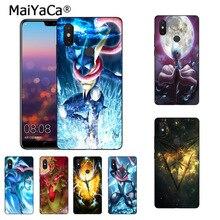 MaiYaCa Pokemons Go Gengar Sinister Nebula Diy phone case Xiaomi Mi 6 Mix2 Mix2S Note3 8 8SE Redmi 5 5Plus Note4 4X Note5