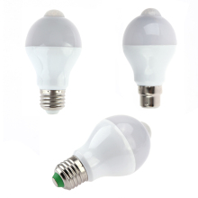 AC 85V~265 V E27 E26 B22 7W 14 LED PIR Motion Sensor Light Bulbs Lamp PIR Infrared Body Bulbs Light LED Lighting NG4S(China)