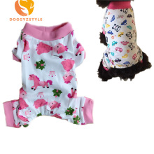 Printed Jumpsuit Summer Pet Dog Clothes Puppy Cat Clothes Small Dogs Pajamas Apparel Coat For Chihuahua DOGGYZSTYLE