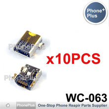 10PCS For HTC G1 Dream Hero G3 Desire Z A7272 G2 T7373 USB Charging Port Connector Plug Jack Socket Dock Repair Part(China)