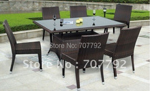 Hot sale SG-12016B Urban new style dining chair,outdoor rattan furniture(China)