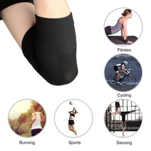 Aolikes Unisex Convenient Soft Elastic Stretch Breathable Warmth Elbow Guard Summer Elbow Support Elbow Pad New(China)