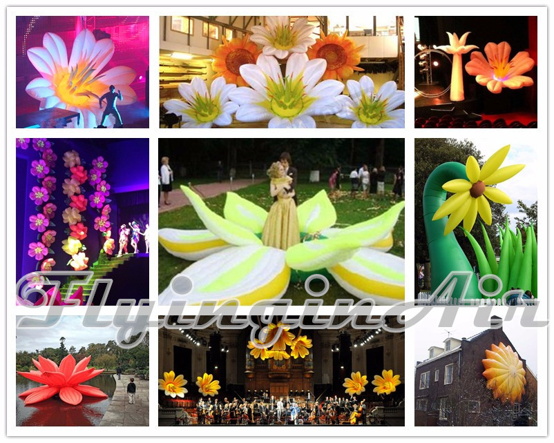 inflatable flower_