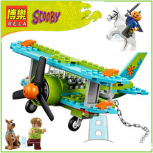 BELA Building Block 10429 Compatible with Scooby Doo Mystery Plane Adventures 75901 Figure Educational Toys For Children