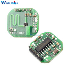 Free Shipping 5V DC Microwave Radar Sensor 10M 180 Degree Angle Detection Time Delay Adjustable Radar Module For Arduino(China)