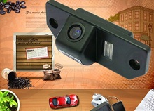 "Free shipping CCD 1/3"" Car Rear view Camera Parking Back Up Reversing Camera For Ford Focus(3)/2008/2010 Focus(2) Night vision(China)"