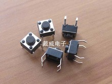 Original new 100% supply of high temperature circuit board touch switch button switch 6*6*5 imported small reed