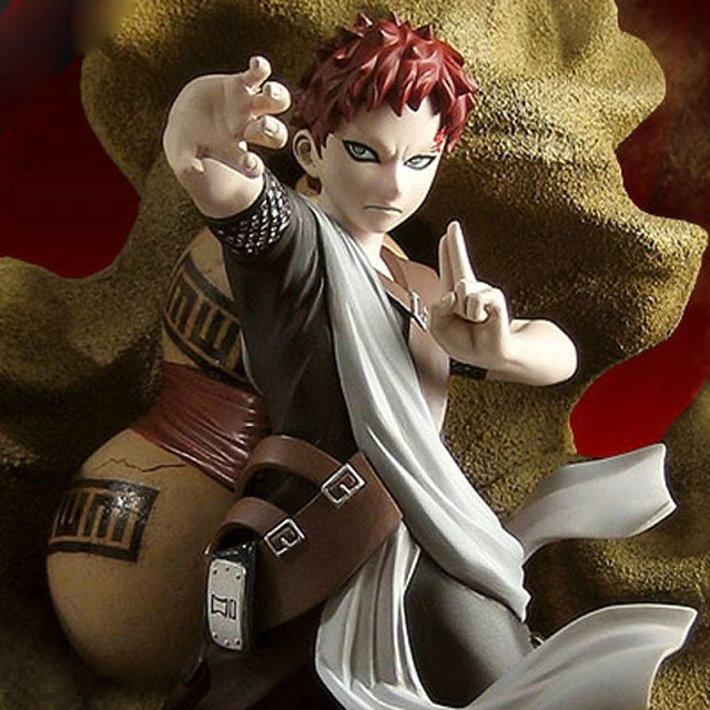 21CM pvc Japanese anime figure Naruto Toynami Sabaku no Gaara action figure collectible model toys brinquedos<br>