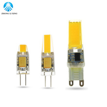 LED G4 G9 Lamp Bulb AC/DC  Dimming 12V 220V 3W 6W 9W COB SMD LED Lighting Lights replace Halogen Spotlight Chandelier