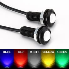 1pc 18MM Car Led Eagle Eye DRL Daytime Running Light Source Backup Reversing Parking Signal Lamp Waterproof Automobile Car Light(China)