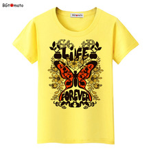 BGtomato Beautiful butterfly t shirt women New fashion colorful sumer shirt Brand Good quality fashion shirt casual tops