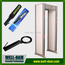 Wholesale high quality metal detector PD6500i 33 zones walk through metal detector gates(China)