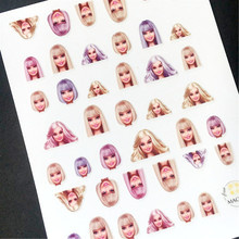 2017 newest MAGICO SERIES export Japan 66D Beauty fashion girl design 3d nail art sticker nail decal accessories supplier(China)