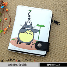 Marvel Captain America Batman Ironman Wallet Tokyo Ghou Men's Wallets Superman Totoro purse Wallet for Men Card Holder(China)