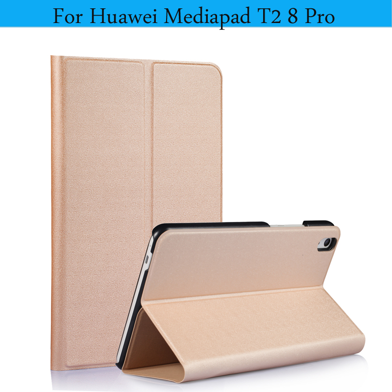 High Quality PU Leather Cover For Huawei Honot Pad 2 8.0 Case Tablet Magnetic Smart Case for Huawei Mediapad T2 8 Pro Cover <br>