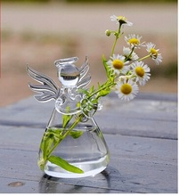 100pcs Fashion Hot Valentine Day Gift Angel Vase Handmade flower vase home decoration fashion Holiday gift birthday gift WA1659(China)