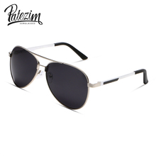 PATEZIM Men's Polarized Sunglasses Fashion Metal Frame Sunglasses For Women Brand Designer Classcal Sun Glasses Out Door Goggles(China)