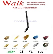 GSM 3G Antenna: Rubber antenna, FME female straight, Rotatable