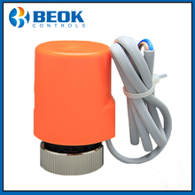Beok RZ-AL230 NC Thermostatic Floor Electric Thermal Actuator Valve Caps Radiator Heating Manifold Pressure Switch Controller